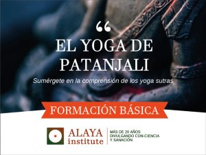 EL YOGA DE PATANJALI. Curso Básico de Formación. 6p Prana. Mód. 9 @ PRANA ESCUELA DE YOGA | Alicante | Comunidad Valenciana | España