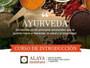 AYURVEDA. Curso de Introducción. 6p. Mód. 3 @ PRANA ESCUELA DE YOGA | Alicante | Comunidad Valenciana | España