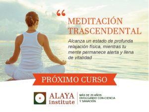 Curso de MEDITACION TRASCENDENTAL  Octubre 2020 @ Alaya Institute
