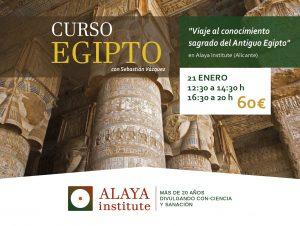 VIAJE SAGRADO AL ANTIGUO EGIPTO @ ALAYA CLINICA | Alicante | Comunidad Valenciana | España