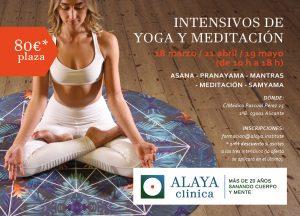 YOGA y MEDITACION. INTENSIVO 21 abril @ ALAYA CLINICA | Alicante | Comunidad Valenciana | España