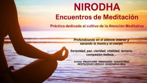 NIRODHA Encuentros de Meditación. Alaya. @ ALAYA Institute | Alicante | Comunidad Valenciana | España