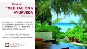 RETIRO de MEDITACION y AYURVEDA. Mojácar. Octubre. 2021 @ HOTEL SERVIGROUP MARINA PLAYA | Alicante | Comunidad Valenciana | España